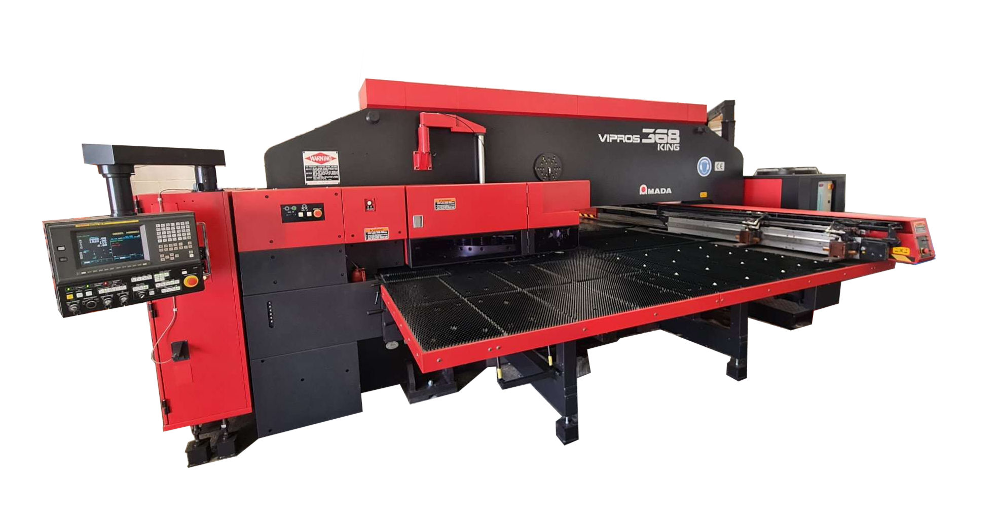 Amada Vipros 368 King - High Speed turret punch press picture Ad-tek